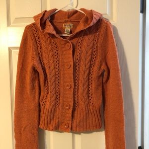 MUDD orange sweater